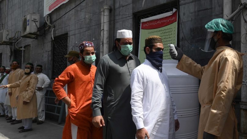 Virus adds a damper to the economy on Eid