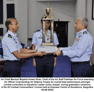 Better trained professional force with high morale can offset the limitations :Air Chief Marshal Mujahid Anwar Khan