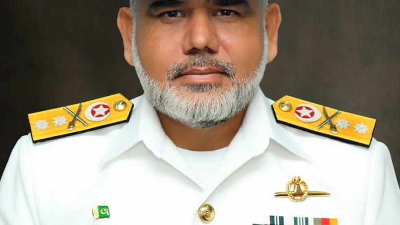 Commodore Muhammad Saleem of Pakistan Navy  promoted to the rank of Rear Admiral