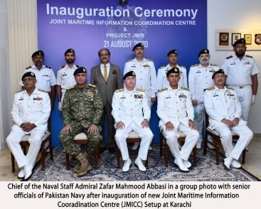Naval Chief inaugurates  new joint Maritime Information Coordination Centre