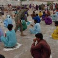 Pakistan Navy distributes ration amongst deserving families during  EID UL ADHA