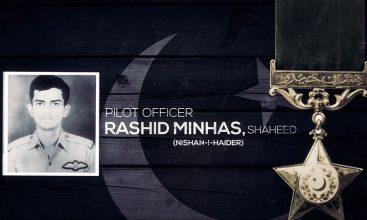 Pakistan Air Force Pays Tribute to Rashid Minhas Shaheed (Nishan-e-Haider)