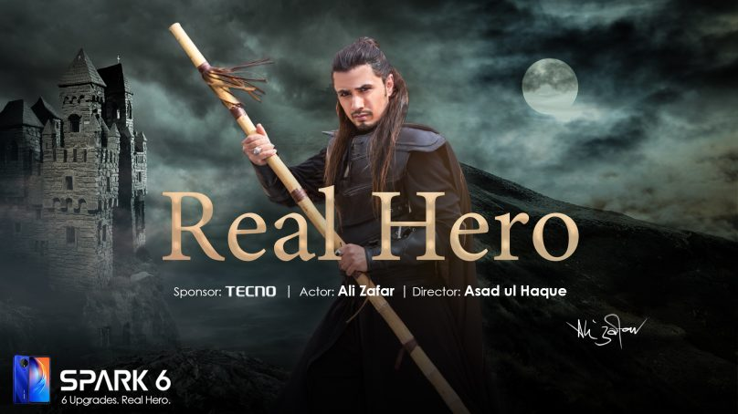 """TECNO appointed the REAL HERO, Ali Zafar, as the ambassador of Spark 6"""""""
