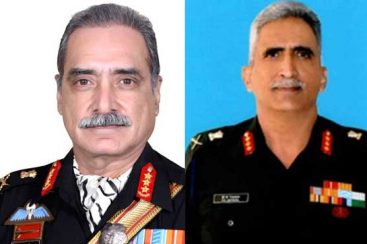 Indian generals face off for the love of power