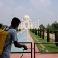 Taj Mahal reopened as coronavirus cases in India surged