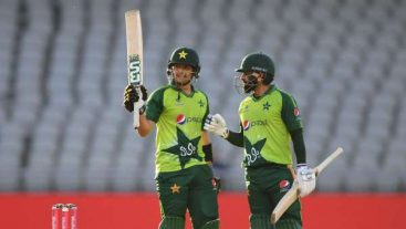 Pakistan finish their England tour on high note
