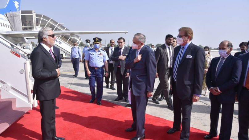 Afghan HCNR Chairman Abdullah begins his visit in Pakistan