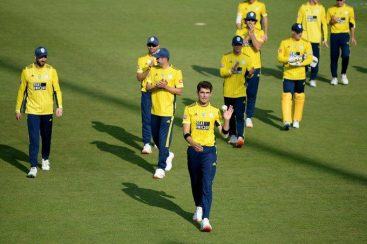 Shaheen Afridi's six wicket haul ensured victory for Hampshire