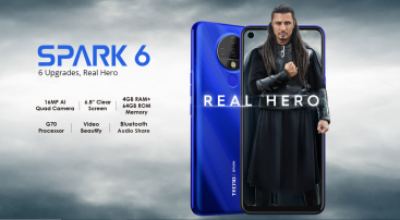TECNO's has launched its Hero Phone Spark 6 in Pakistan