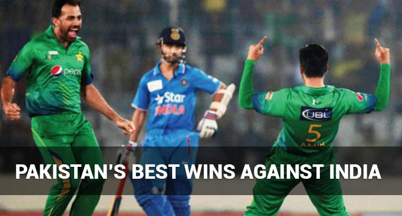 Pakistan's Best Wins Against India