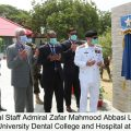 Chief of the Naval Staff laid foundation for Health Sciences Complex at Bahira University