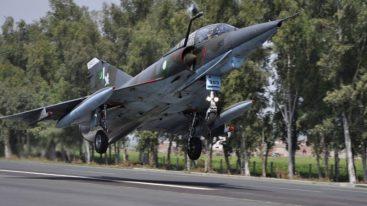 PAF 'Road Runway' drills on Islamabad-Lahore Motorway