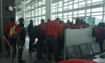 Zimbabwe cricket team arrives in Islamabad