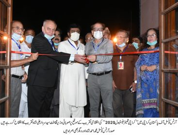 Karachi Theatre Festival 2020 Inaugurated by Syed Sardar Ali Shah at Arts Council