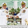 Vice Admiral Faisal Rasul Lodhi takes over as COMKAR