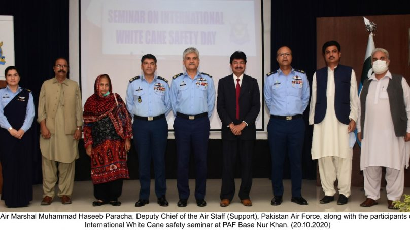 PAF conducts International White Cane Safety seminar