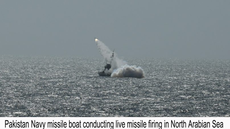 Pakistan Navy conducts successful live weapons firings in North Arabian Sea