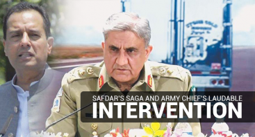 Safdar's Saga and Army Chief's Laudable Intervention
