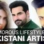 Glamorous Lifestyles of Pakistani Artists