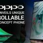 Oppo X2021 unveils unique 'rollable' concept phone