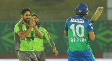 """Shahid Afridi lauded the """"unplayable"""" yorker of Haris Rauf that shattered his stumps, asking him to """"bowl slow"""" next time."""