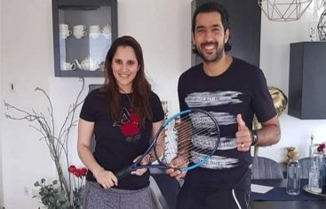 Sania Mirza donates her racquet to Aisam-ul-Haq for his charity foundation