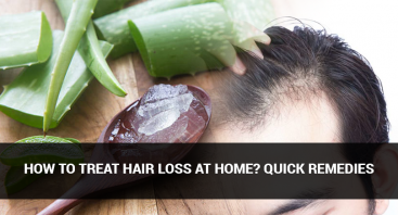 How to treat Hair Loss at Home? Quick Remedies
