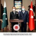 """Naval Chief conferred with """"""""Legion of Merit of the Turkish Armed Forces"""" at Turkey"""
