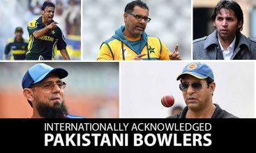 Internationally Acknowledged Pakistani Bowlers