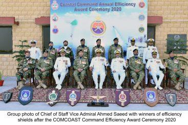 Pakistan Navy Coastal Command Annual Efficiency Award Ceremony