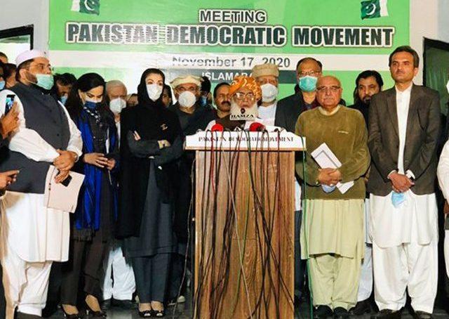 PDM lampoons PTI govt at Malakand rally