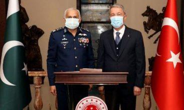 Air Chief Marshal Mujahid Anwar Khan meets senior military leadership of Turkey