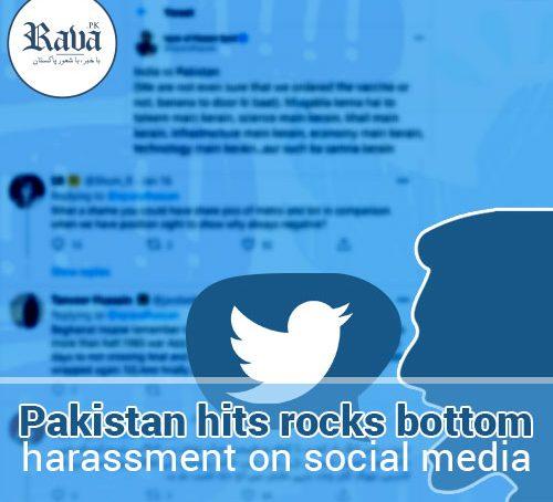 Pakistan hits rocks bottom: harassment on social media