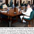 Murad order foolproof security, other arrangements during AMAN Exercise
