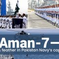 Aman-7 — A feather in Pakistan Navy's cap