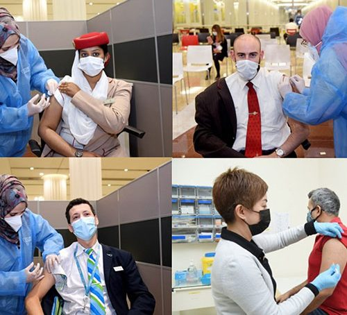 Emirates Group rolls out COVID-19 vaccination programm