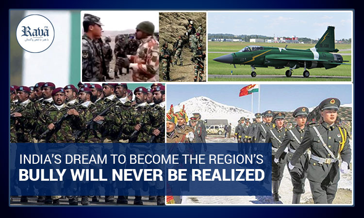 India's dream to become the region's bully will never be realized