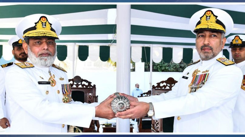 Rear Admiral Abid Hameed takes over Logistic Command of Pakistan Navy