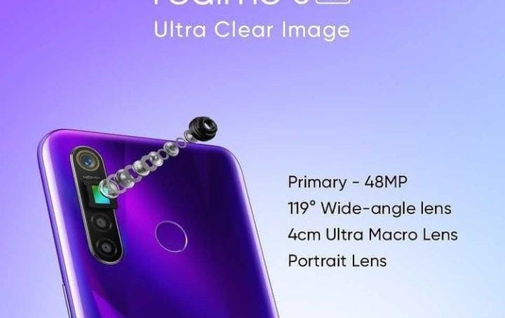 realme improves picture quality by introducing 64MP camera