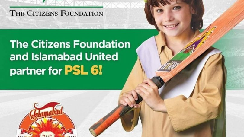 Islamabad United The Citizens Foundation partner for PSL6 808x454