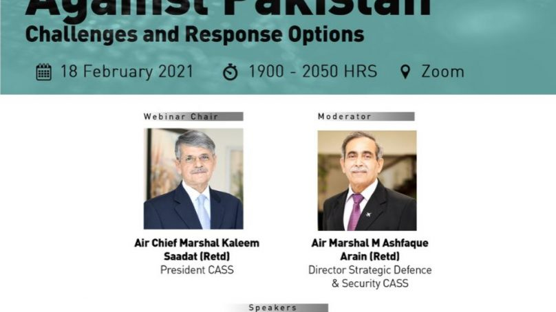 'Hybrid Warfare against Pakistan: Challenges and Response Options