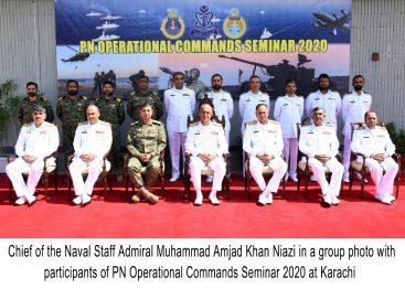 Pakistan Navy Operational Commands Seminar held at Karachi