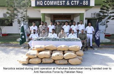 Pakistan Navy & ANF successful joint operation