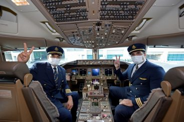 Emirates operates first flight serviced by fully vaccinated frontline teams