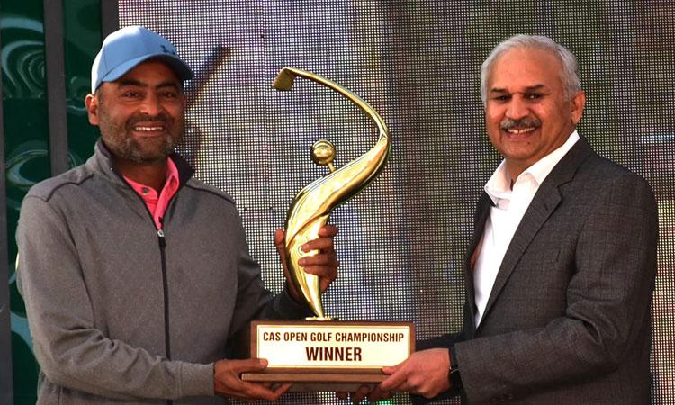 Muhammad Shabbir wins 40th CAS Open Golf title