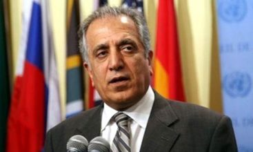 Khalilzad calls on senior Afghan official to expedite peace process