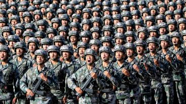 China's defence budget set to rise by 6.8pc in 2021