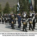 ​Chief of Air Staff pays farewell call on Naval Chief