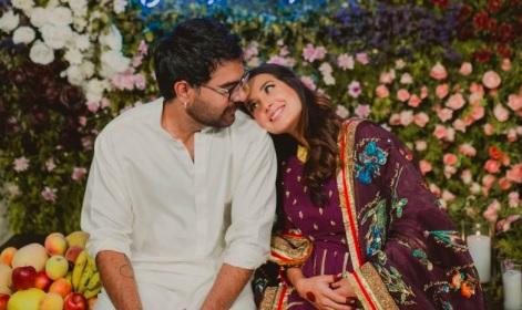 Yasir Hussain Iqra Aziz baby