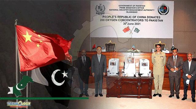 China Donates 200 Mobile Oxygen Concentrators To Pakistan